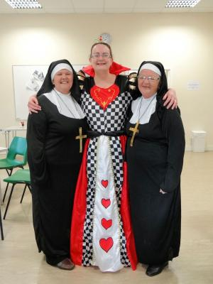 Queen of Hearts meets Sister Act