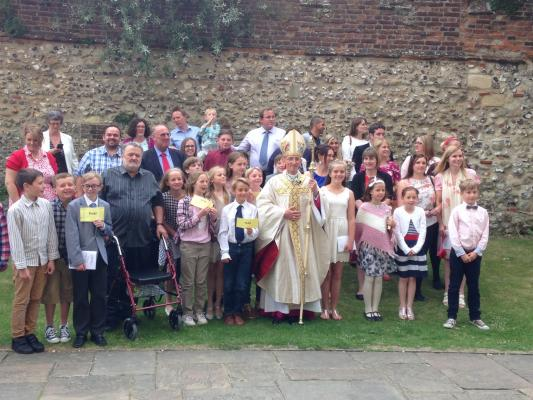 Confirmation Chichester Cathedral June 21st 2015