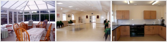 Church hall images